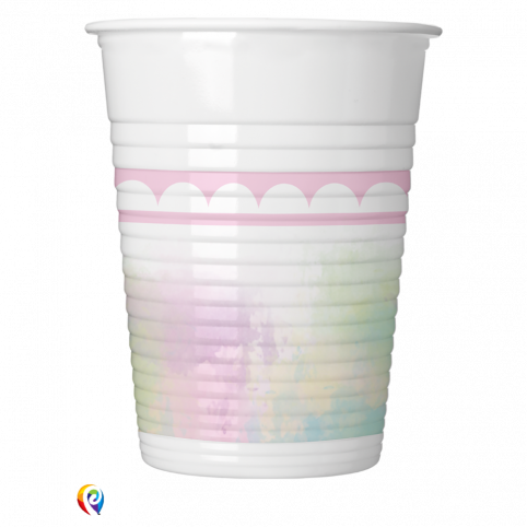 Believe in Unicorns Collection Plastic Cups