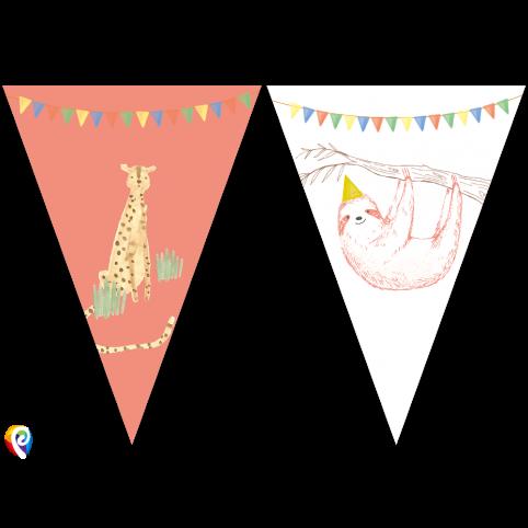 Safari Party Flag Bunting