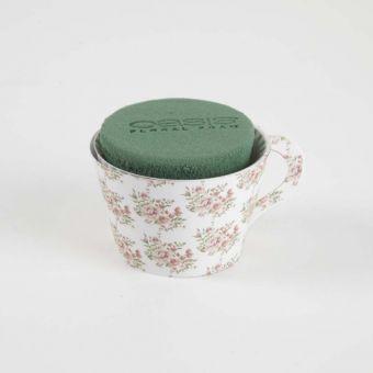 OASIS® Ideal Floral Foam Maxlife Tea Cups - Pink Bouquet (Pack of 6)