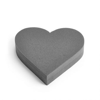 OASIS® FOAM FRAMES® Noir Ideal Floral Foam Heart