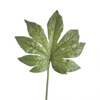 Artificial Fatsia Japonica Leaf Stem