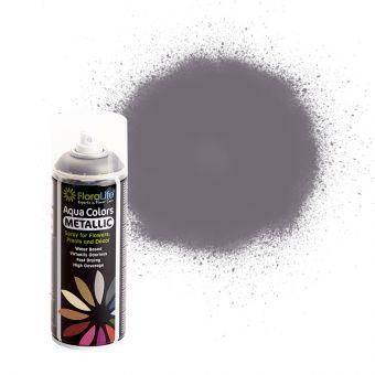 FloraLife® Aqua Colors Metallic Anthracite Spray Paint 400ml