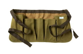 Suede and Canvas Toolbelt