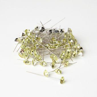 Sparkler Pins - Apple Green - 60mm x 12mm