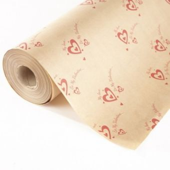 My Love Kraft Paper Roll