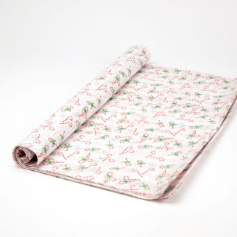 Candy Cane Tissue Paper Sheets