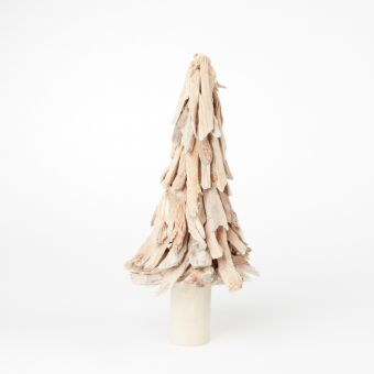 Driftwood Tree - Frosted White - 45cm x 20cm