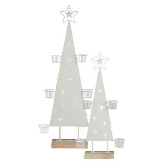 Snowdon Christmas Tree Tealight Holder