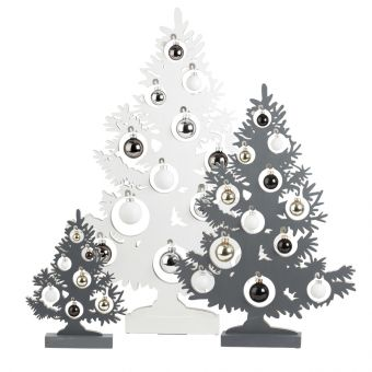 Olympus Tree with Baubles & LED Lights