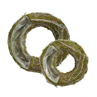 Mossy Wreath - Lined
