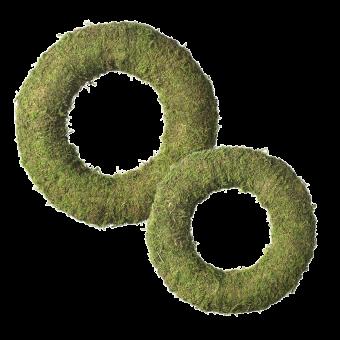 Wetlands Moss Wreath Ring