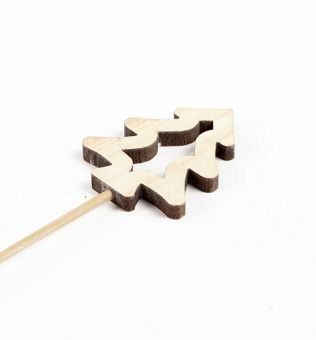 Wooden Natural Tree Pick