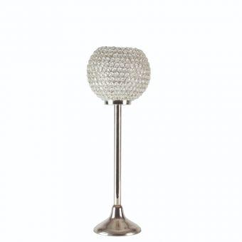 Globe Crystal Candle Holder - 60cm