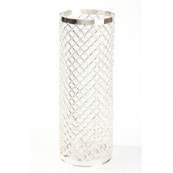 Silver & Crystal Column - 90cm