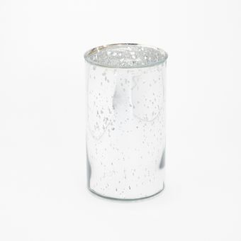 Bergen Cylinder Mercury Silver 26cm
