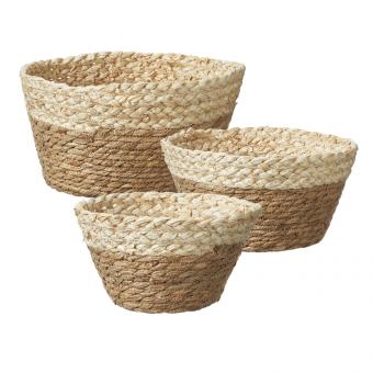 Kumara Lined Straw Bowls