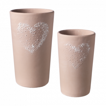 Amour Heart Vase