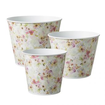 Fleurville Lined Tin Pot