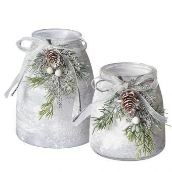 Snowburst Vase