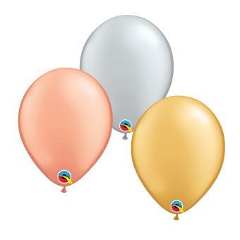 "Plain Rose Gold 5"" Balloon"
