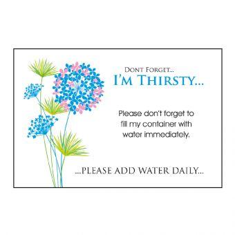 Designer Care Card - I'm Thirsty