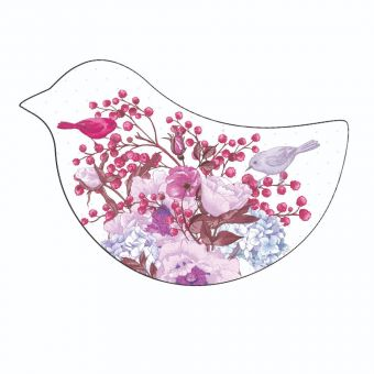 Birds, Berries and Flowers