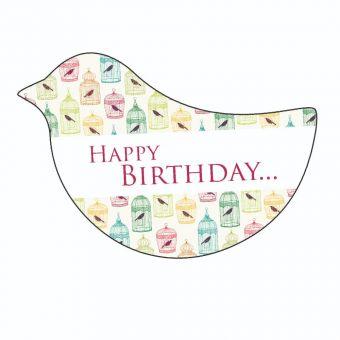 Happy Birthday - Bird Cages - Bird