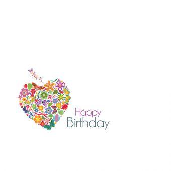 Happy Birthday, Butterfly Heart