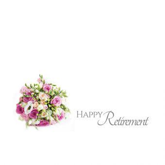 Happy Retirement, Bouquet of Roses