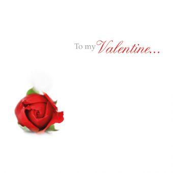 To My Valentine, Red Rose Bud
