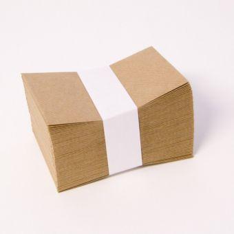 Plain Kraft Paper Envelopes 11 x 7cm (Pack of 100)