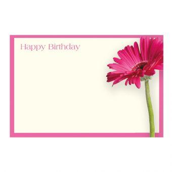 Happy Birthday Cerise Gerbera