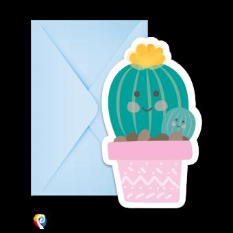 Cactus Party Invitations