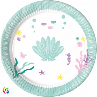 Party Under the Sea paper plates