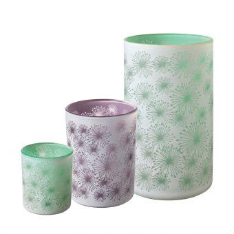 Allium Glass Votive