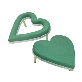 OASIS® Ecobase Ideal Floral Foam Hearts