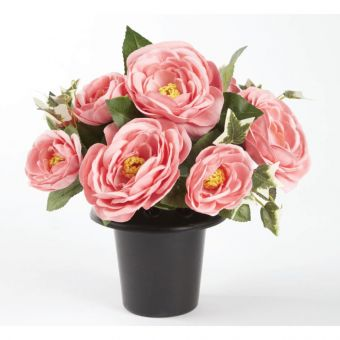 Everlasting Blooms Grave Vase Container