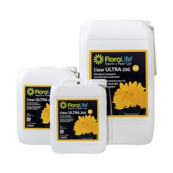 FloraLife® Clear ULTRA 200 Storage & Transportation Concentrated Liquid