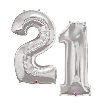 Number 4 Balloon