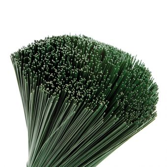 Green Lacquered Stub Wire