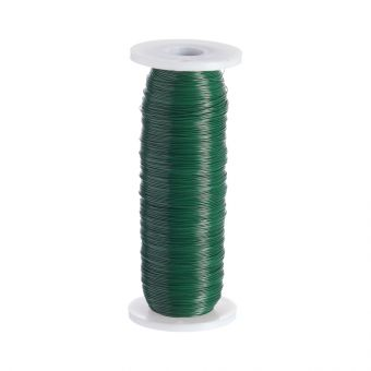 Green Laquered Reel Wire