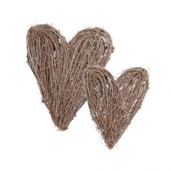 Grey Twig Heart