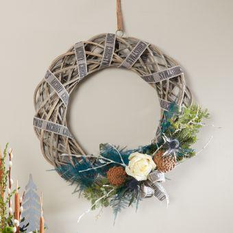 Grey Wash Wreath Kit