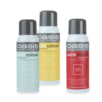 OASIS® Spray Colours - Matt Colours