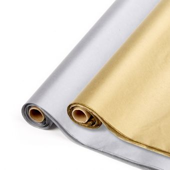 Metallic Tissue Paper Sheets