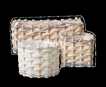 Lined Teton Baskets (Set of 3)