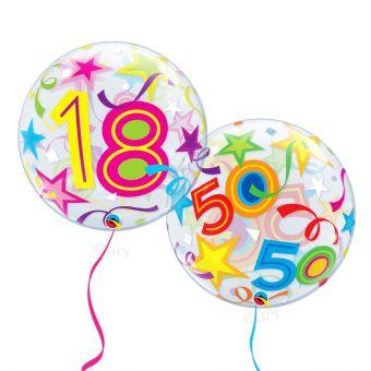 18 Happy Birthday Stars Balloon