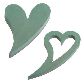 OASIS® FOAM FRAMES® Ideal Floral Foam Swinging Hearts