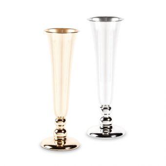 Trumpet Lined Vase