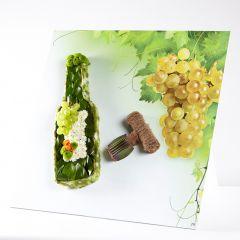 OASIS® Ideal Floral Foam FotoFloral Wine Bottle & Cork